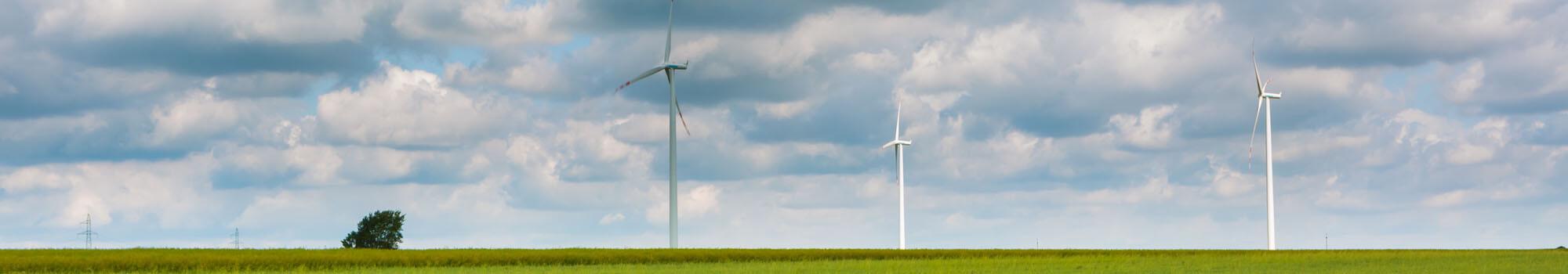 Wind power meter reading